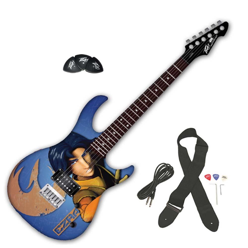 peavey star wars rebels ezra rockmaster 3 4 electric guitar w 144pcs thin picks ppackage 278. Black Bedroom Furniture Sets. Home Design Ideas