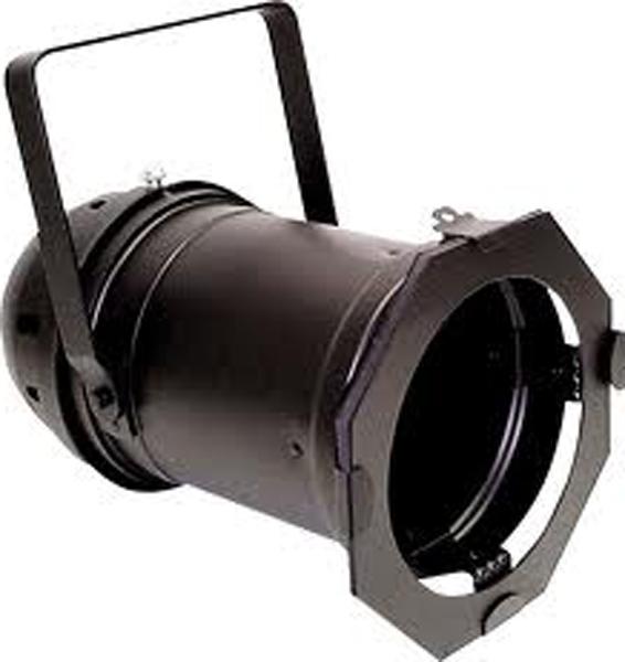 Eliminator Lighting E-121-B Par 64 Black Aluminum Par Can