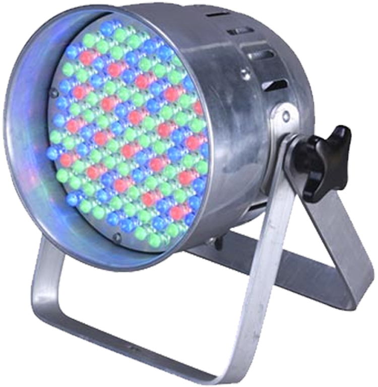 Eliminator Lighting ELECTRO 56LED DMX Intelligent LED Par Can Light RGB 4 DMX Channels Dimming & Strobe Effect