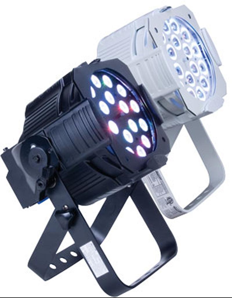Elation OPTI TRI PAR WH White RBG Tri Color LED Par