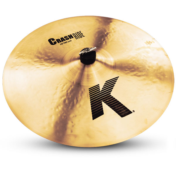 "Zildjian K0808 18"" K Series Crash Ride Drumset Cymbal with Cast Bronze Material & Mid to Low Profile"