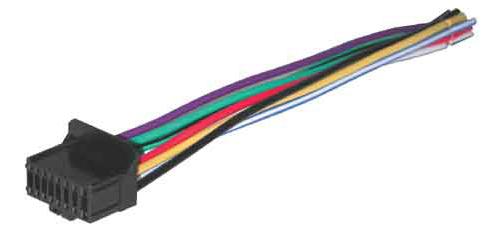 best kit bhpio16c original pioneer 16 pin head unit wire