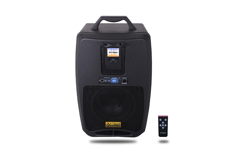 DJ Tech iVisa TT PA System for iPod Built-in USB Meadi Player