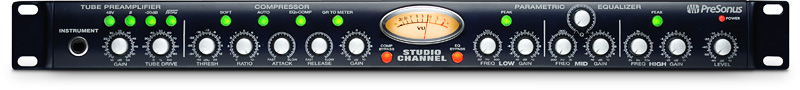 PreSonus Studio Channel 1-Channel Class A Vacuum Tube Preamp