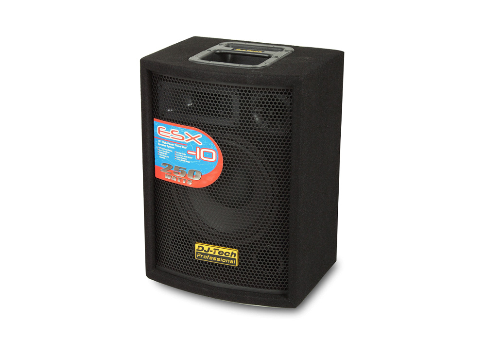 "DJ Tech ESX-10 ESX Family 10"" High Power Woofer with 250 Watts Max"