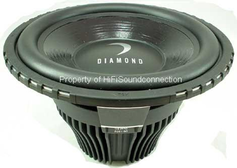 "Diamond Audio D910D2 Car Stereo 10"" D9 1200 Watt Peak Dual 2 Ohm Sub Subwoofer"