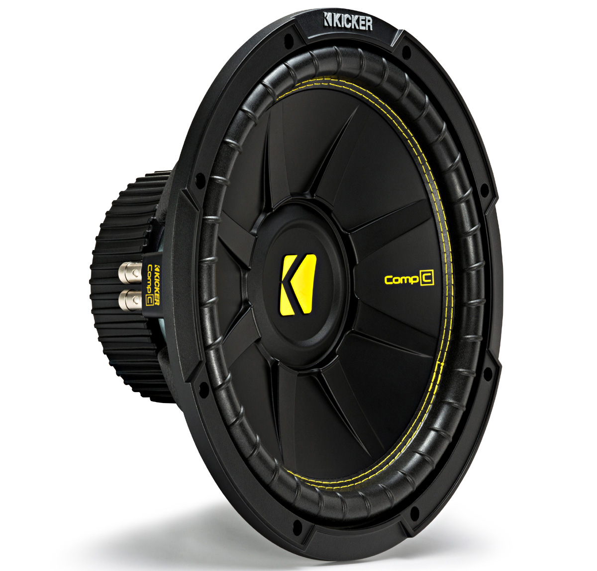 "Kicker CWD12 Car Audio CompC Subwoofer Dual 4 Ohm 12"" Sub 44CWCD124 Brand New"