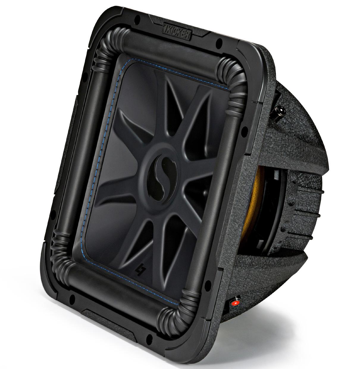 Kicker L7S12 Car Audio Solo-Baric 12 Subwoofer Square L7 Dual 4 Ohm Sub 44L7S124