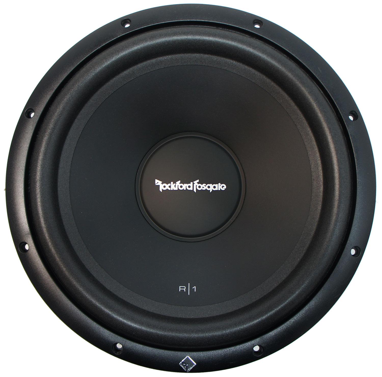 Rockford Fosgate R1S412 Prime 12-Inch Sub 4-Ohm SVC 150-Watt RMS Car Audio Subwoofer