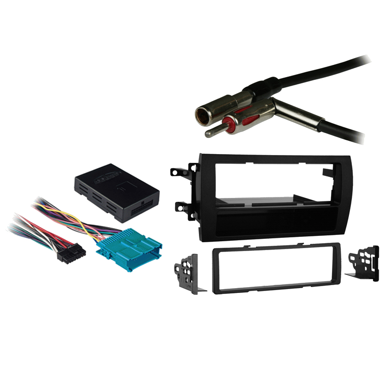 Cadillac Catera 1997 1998 1999 2000 2001 Single DIN Stereo Harness Radio Install Dash Kit Package