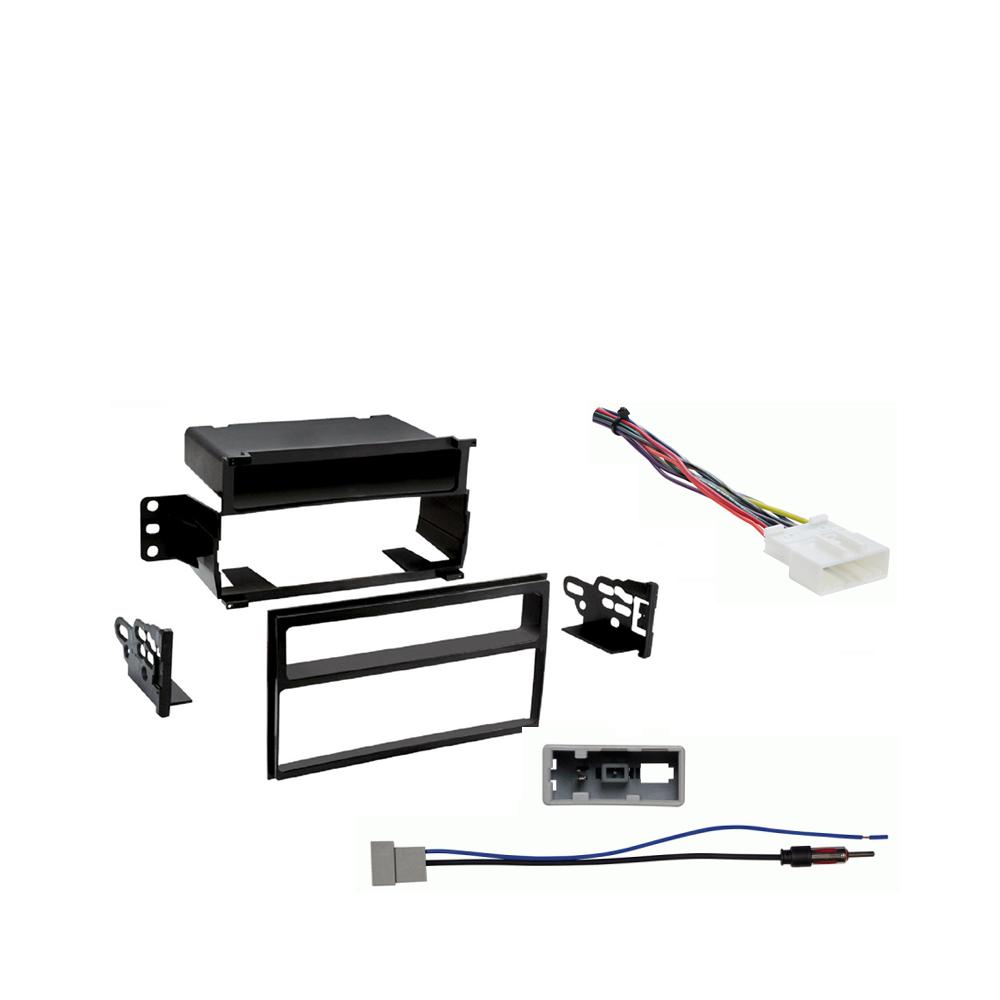 Nissan Juke 2011 2012 2013 2014 Multi DIN Stereo Harness Radio Install Dash Kit Package