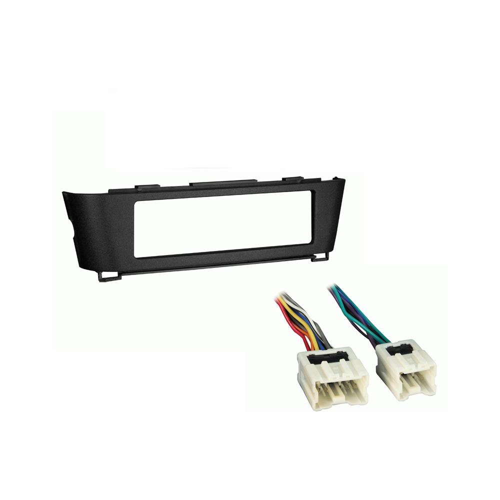 Nissan Sentra 2000 2001 2002 2003 2004 2005 2006 Single DIN Stereo Harness Radio Install Dash Kit Package