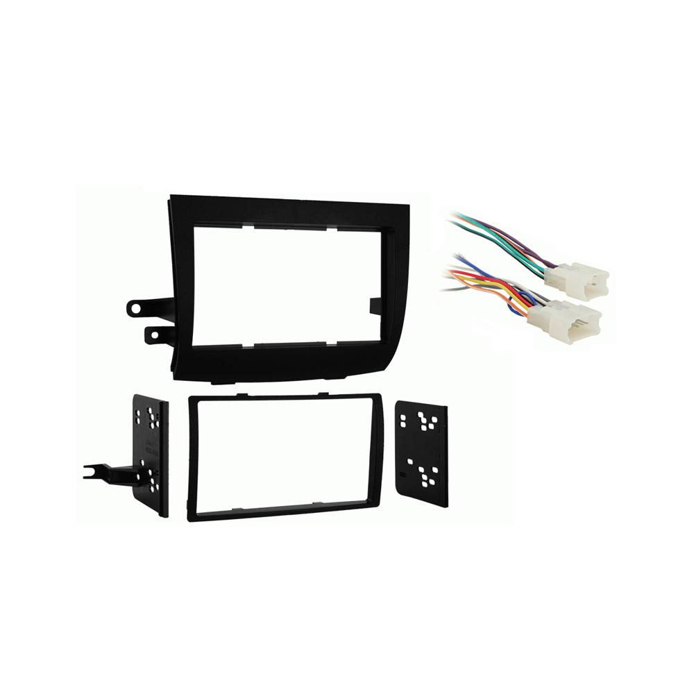 Toyota Sienna 2004 2005 2006 2007 2008 2009 2010  Double DIN Stereo Harness Radio Install Dash Kit Package