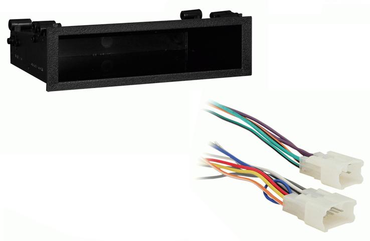 Toyota Solara 1999 2000 2001 2002 2003 Single DIN Stereo Harness Radio Install Dash Kit Package