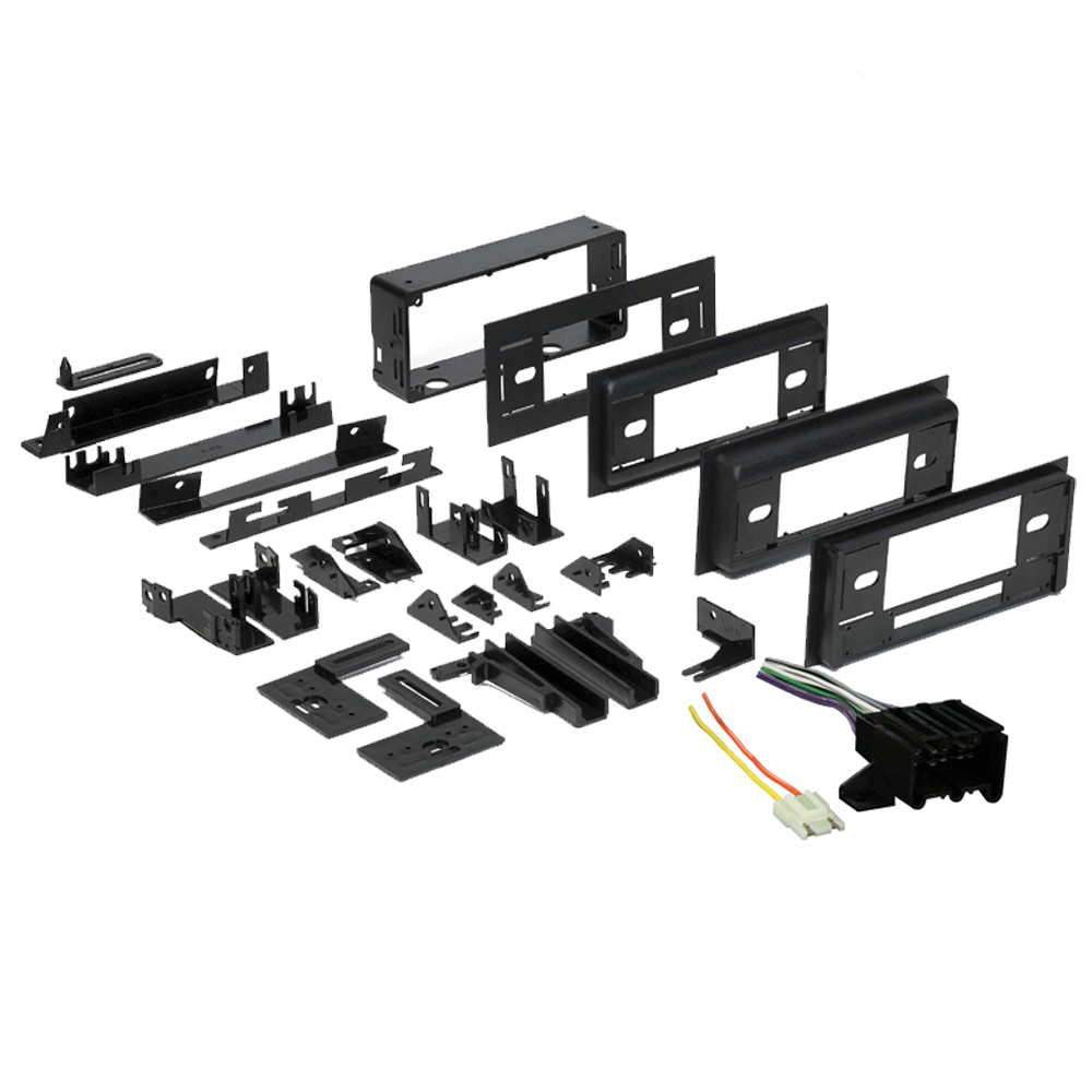 Chevy Caprice 1991 1992 1993 Single DIN Stereo Harness Radio Install Dash Kit Package