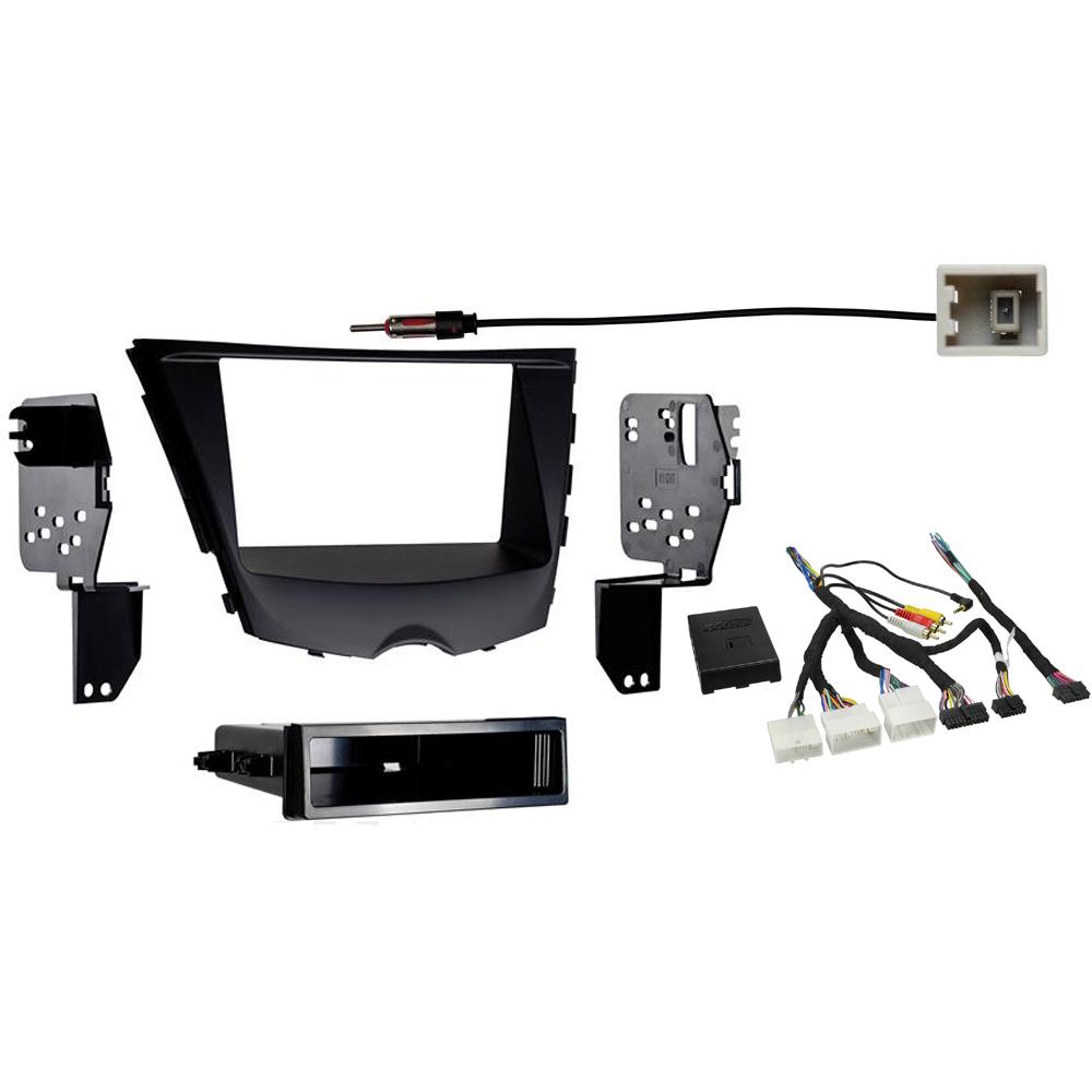 Fits Hyundai Veloster 2012 2016 Single Double DIN Stereo Radio Install Dash Kit