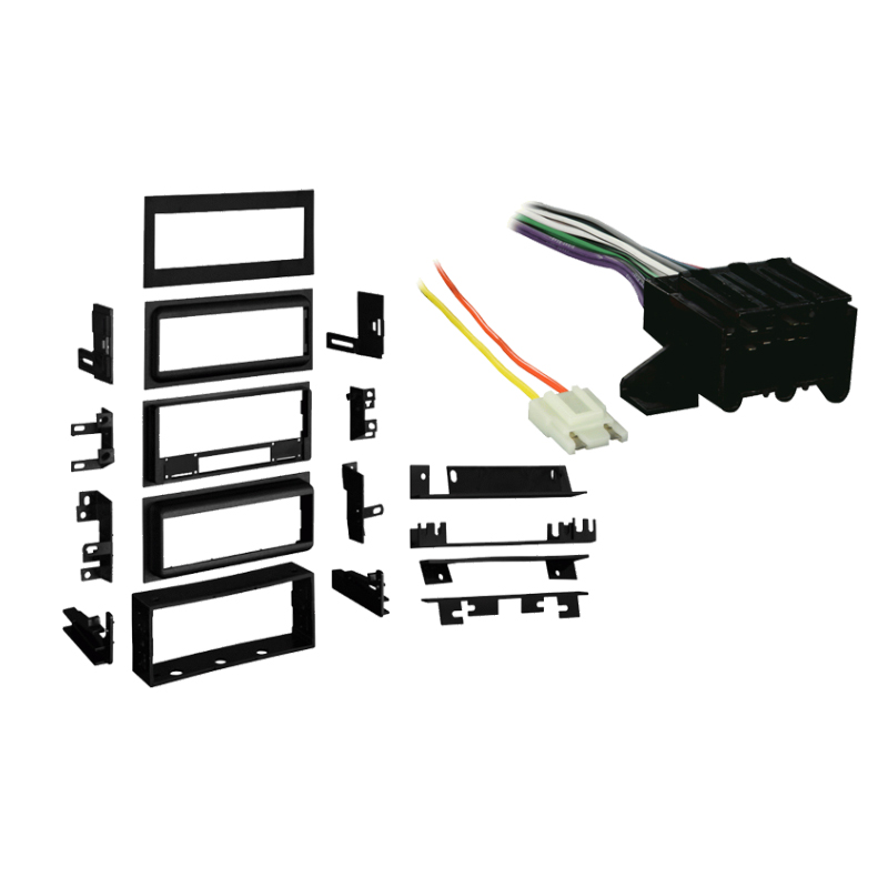 Chevy Citation II 1985 Single DIN Stereo Harness Radio Install Dash Kit Package