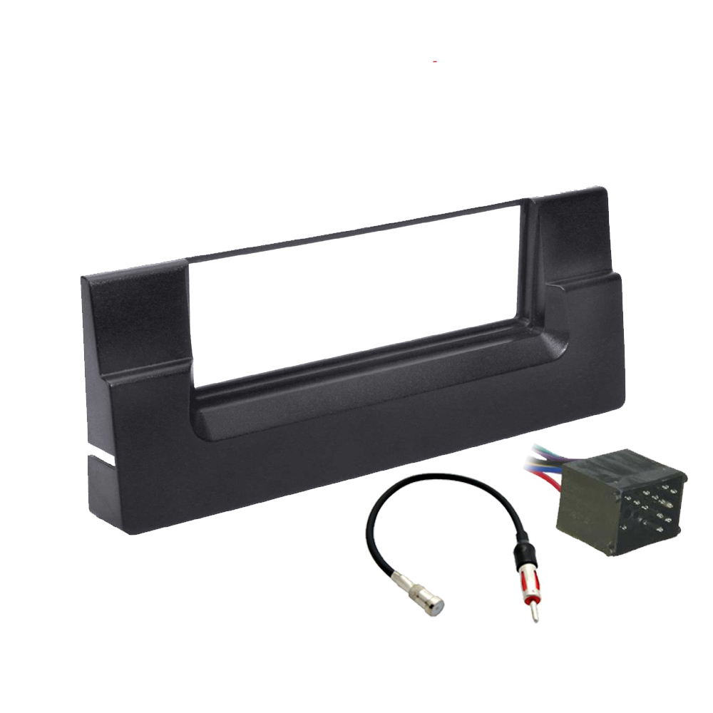 BMW 5 Series 2001 2002 2003  Single DIN Stereo Harness Radio Install Dash Kit Package