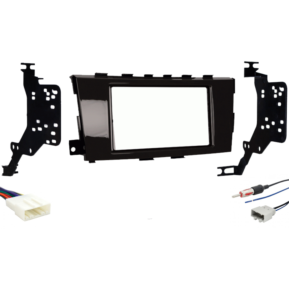 Fits Nissan Altima 2013 Double DIN Stereo Harness Radio Install Dash Kit Package