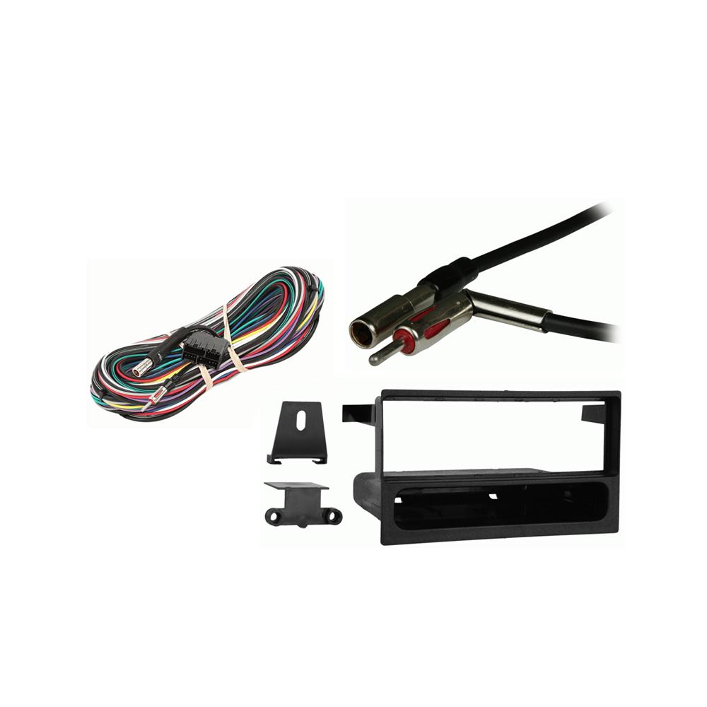 Cadillac Eldorado  1992 1993 1994 1995  Single DIN Stereo Harness Radio Install Dash Kit