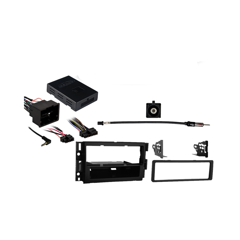 Chevy Equinox 2007 2008 2009 Single DIN Stereo Harness Radio Install Dash Kit Package