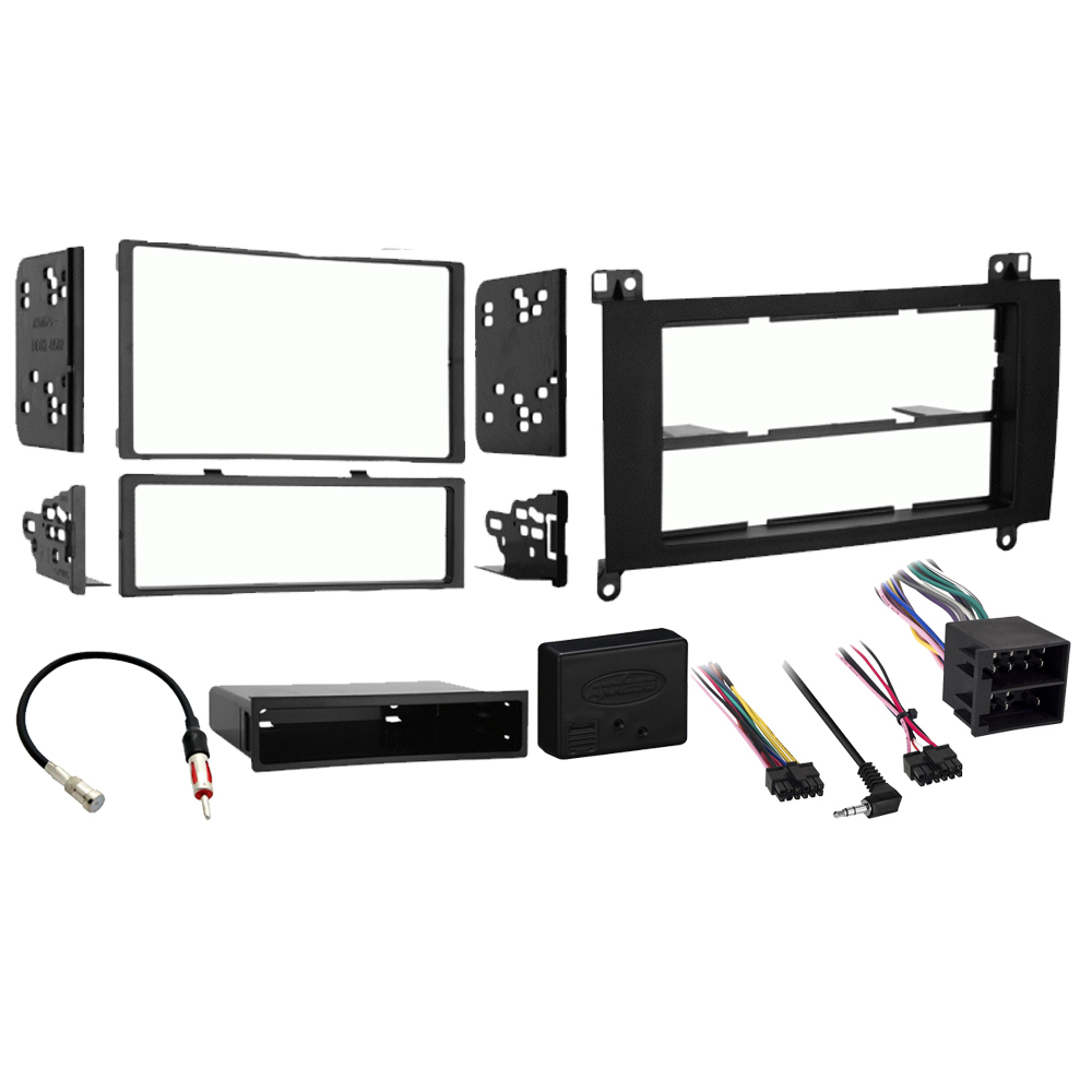 Dodge Sprinter 2007 2008 2009Single or Double DIN Stereo Radio Install Dash Kit New