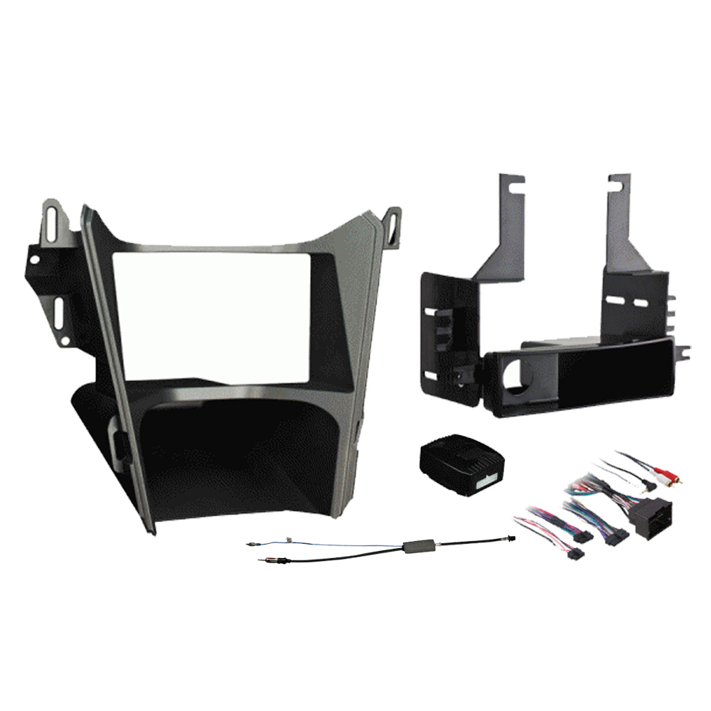 Chevy Equinox 2010 2011 2012 2013 2014 2015 Single or Double DIN Stereo Radio Install Dash Kit