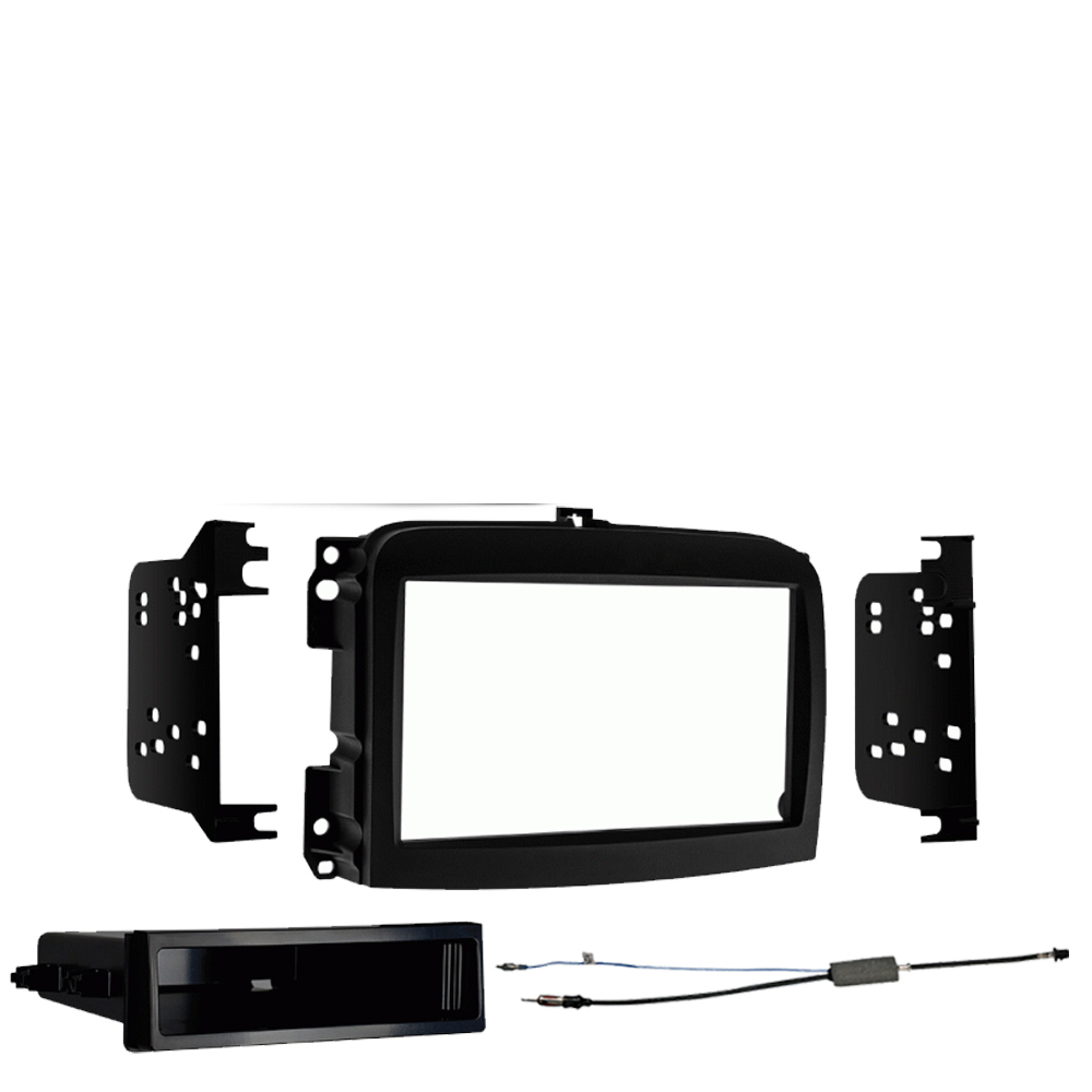 Fiat 500L 2014 2015 2016 2017 2018 Single DIN Stereo Harness Radio Install Dash Kit Package New