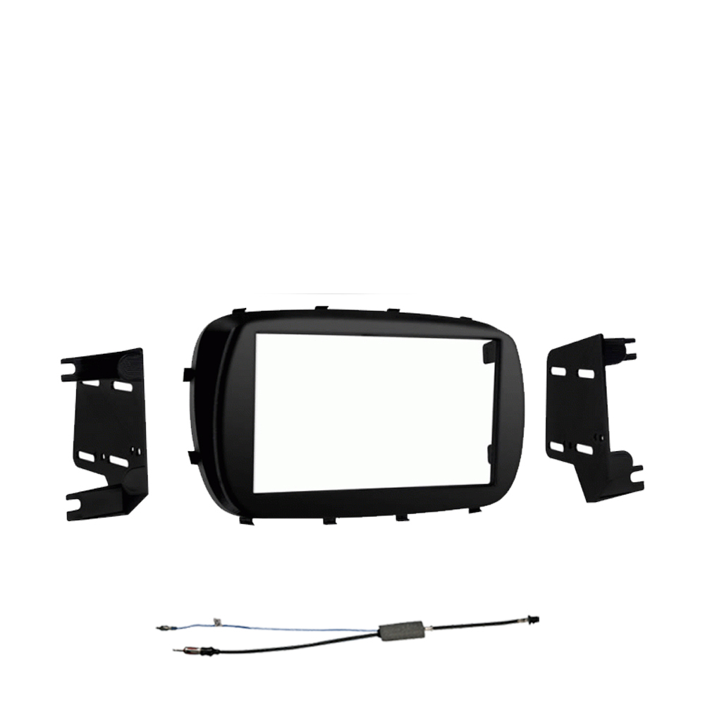 Fiat 500X 2016 2017 2018 Double DIN Stereo Harness Radio Install Dash Kit Package New