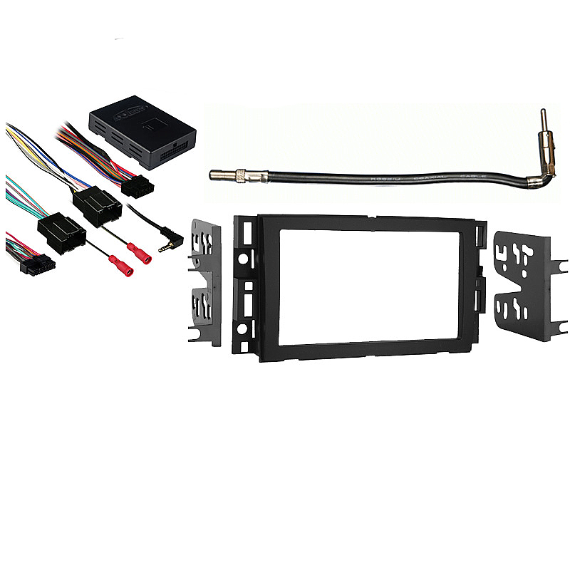 Chevy Suburban  2007 2008 2009 2010 2011 2012 2013 Double DIN Stereo Harness Radio Install Dash Kit