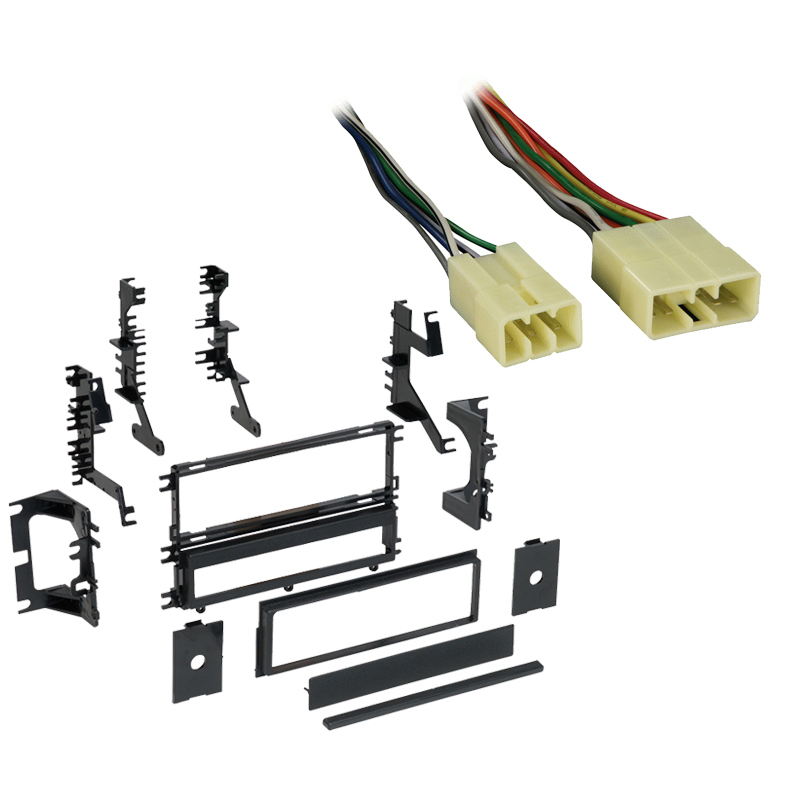 Dodge Colt 1993 1994 Single DIN Stereo Harness Radio Install Dash Kit Package