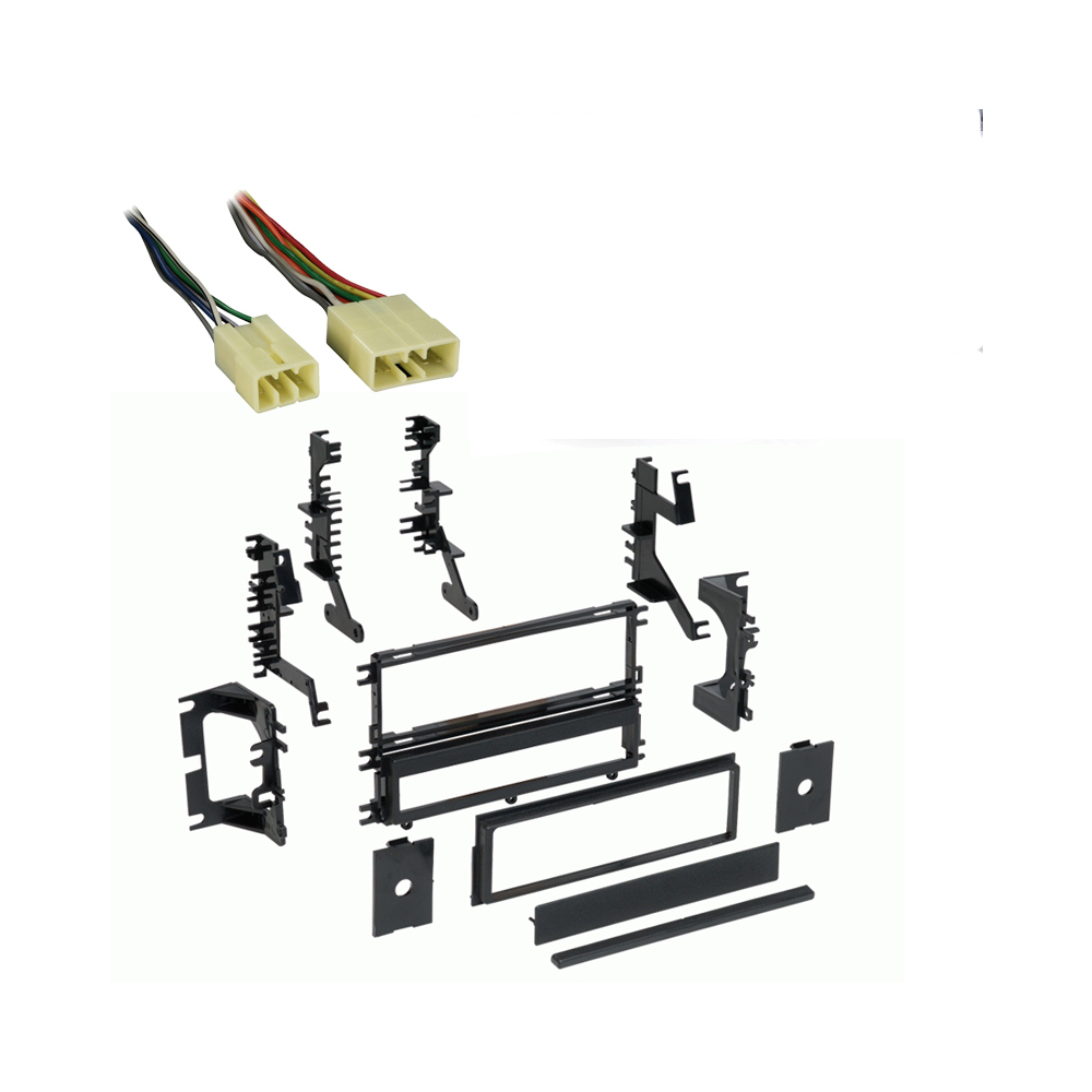 Dodge Stealth 1990 1991 1992 1993 Single DIN Stereo Harness Radio Install Dash Kit Package