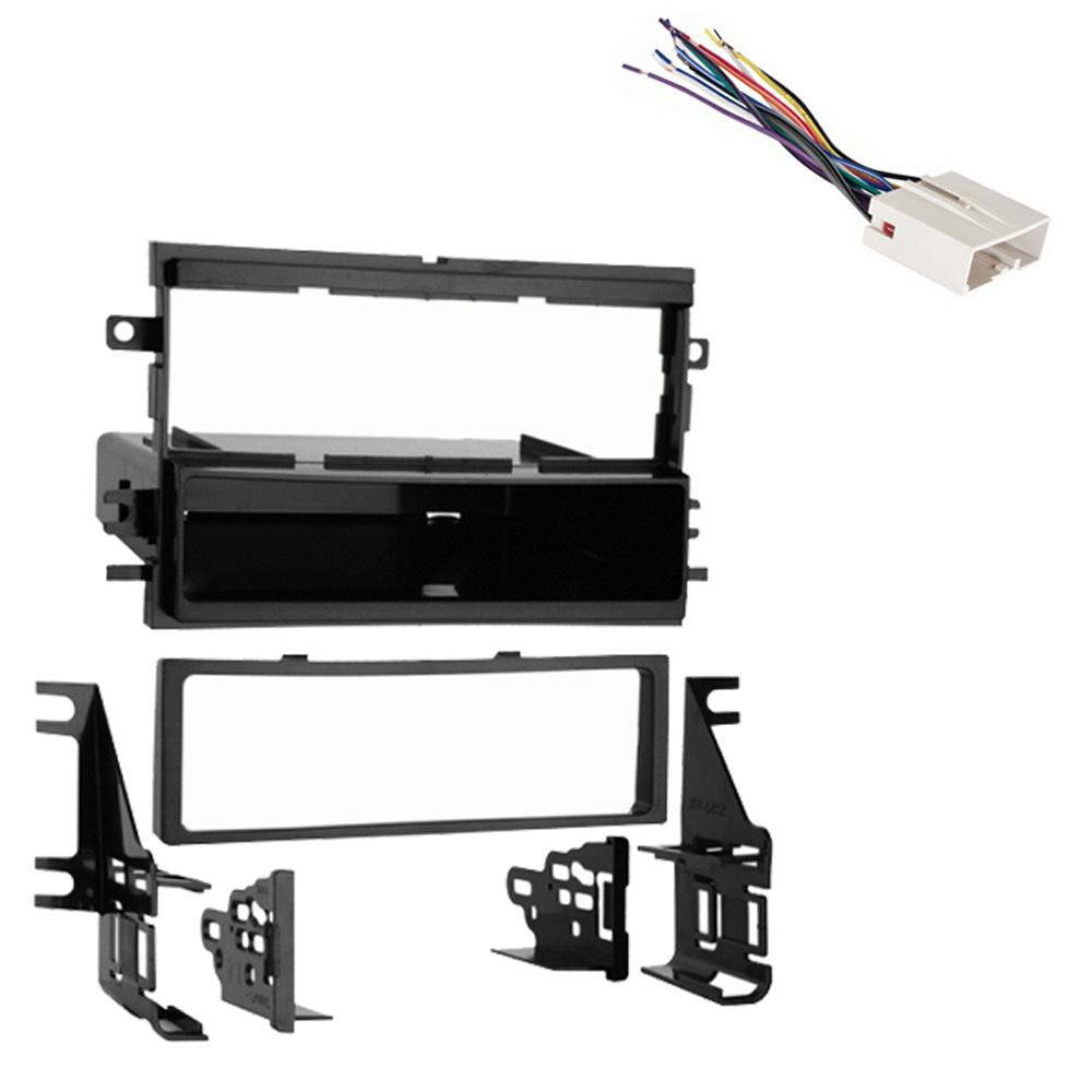 Fits Ford Five Hundred 05-07 Single DIN Stereo Harness Radio Install Dash  Kit   eBayeBay