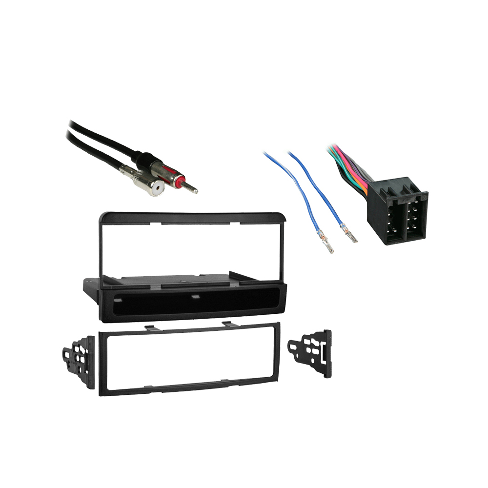 Ford Focus 2003 2004 w Blaupunkt Radio Single DIN Stereo Harness Dash Kit -  SC2-RadioKit492HiFi Sound Connection