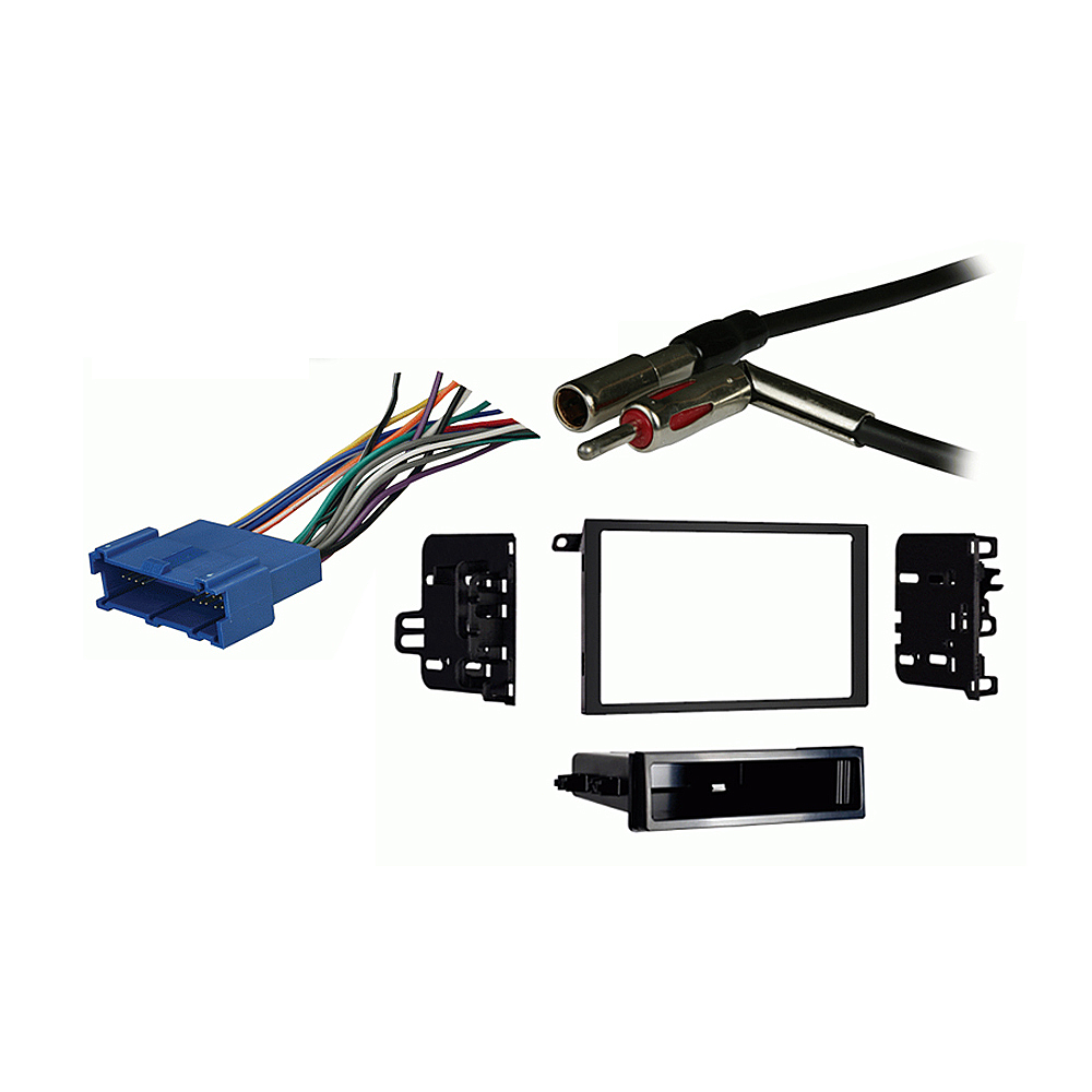 Buick Century 1997 1998 1999 2000 2001 2002 2003 Double DIN Stereo Harness Radio Install Dash Kit Package