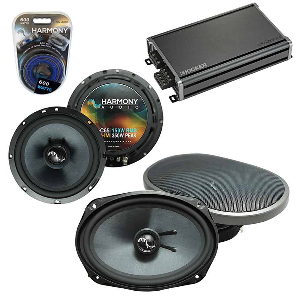 Compatible with Hyundai Sonata 2006-2008 OEM Speakers Replacement Harmony C65 C69 & CXA360.4 Amp
