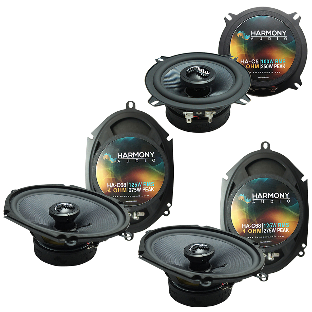 Fits BMW 328 1997-2001 Factory Premium Speaker Replacement Harmony (2) C68 C5 Package