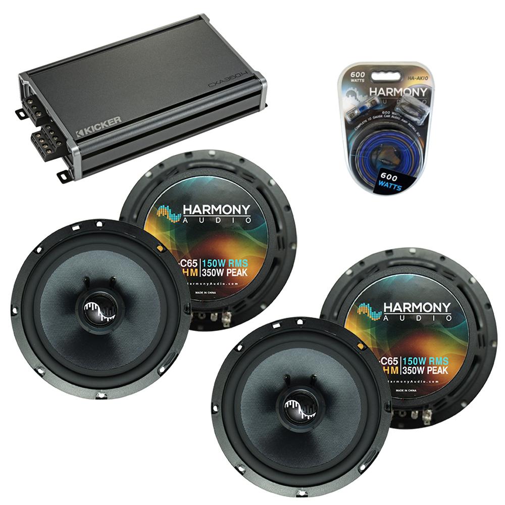 Compatible with Infiniti FX35-FX45 2003-2008 OEM Speakers Replacement Harmony (2) C65 & CXA360.4