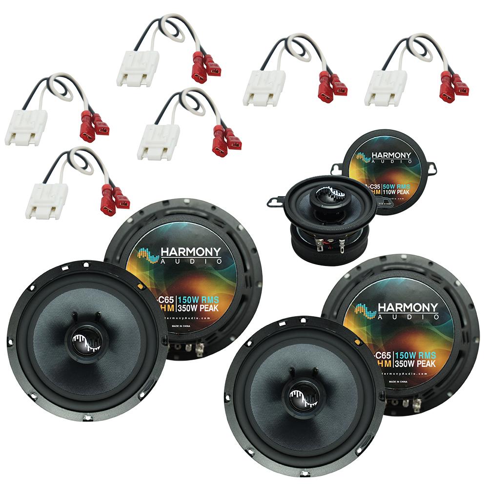 Fits Jeep Grand Cherokee 1993-1995 OEM Premium Speaker Replacement Harmony Upgrade Kit