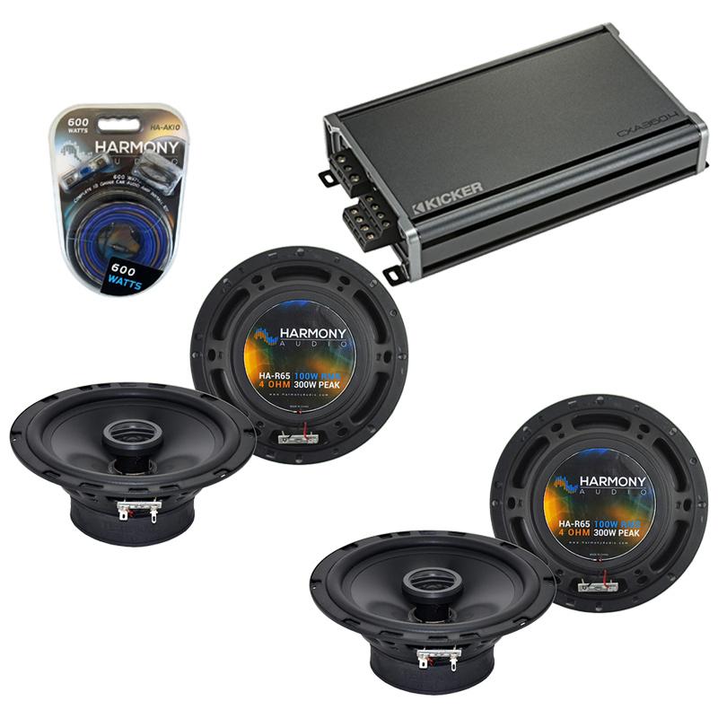 Compatible with Kia Sorento 2003-2009 Factory Speaker Replacement Harmony (2) R65 & CXA360.4