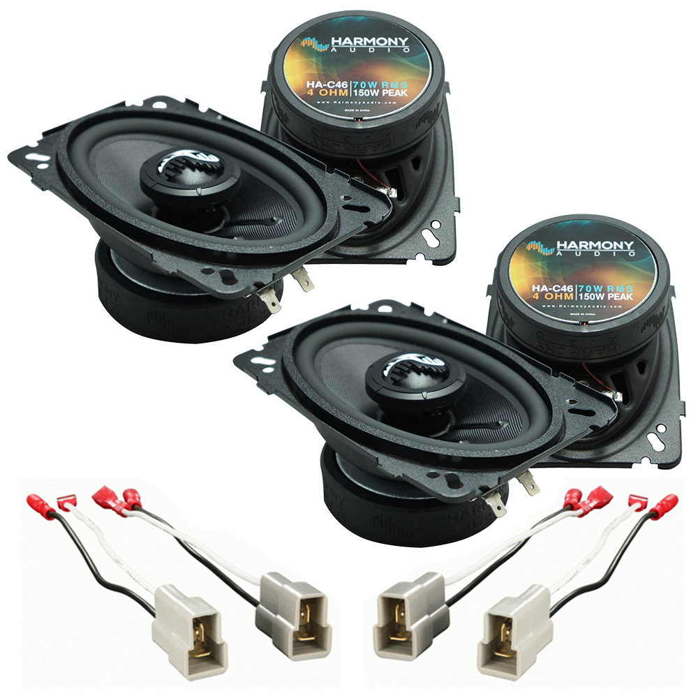 Fits Nissan 240SX 1989-1994 Factory Premium Speaker Replacement Harmony (2) C46 Package