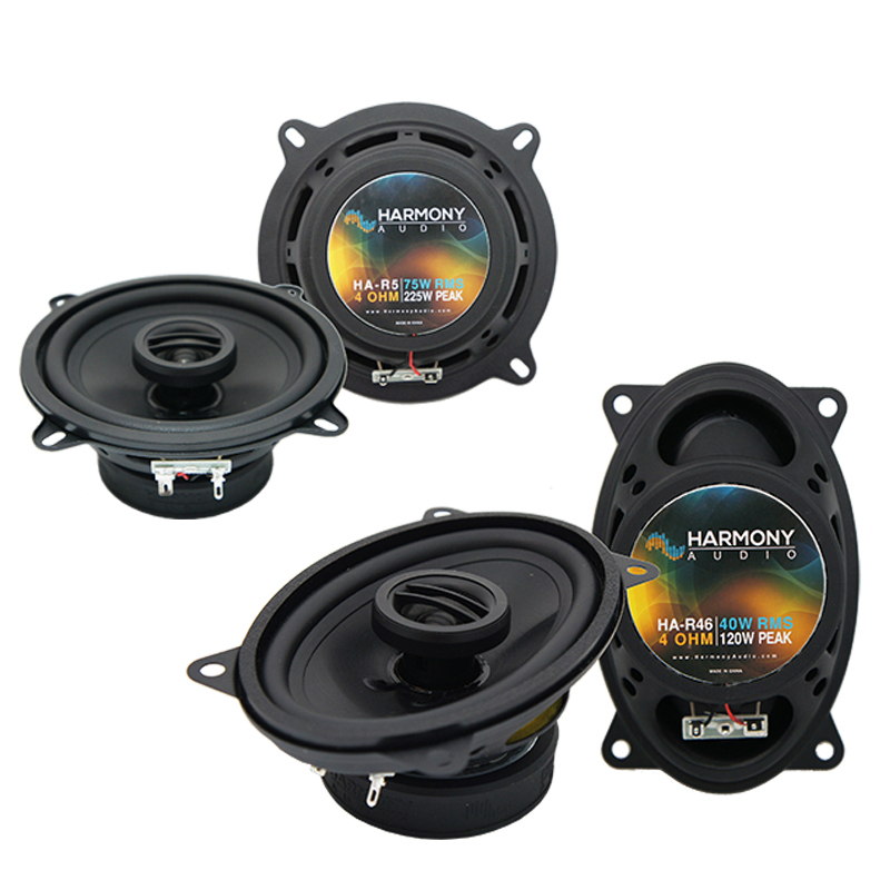 Porsche 911 1973-1997 Factory Speaker Replacement Harmony R5 R46 Package New