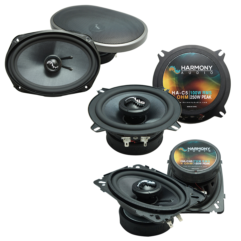 Fits Cadillac DeVille 1996-1999 Factory Speaker Upgrade Harmony Premium Speakers Package