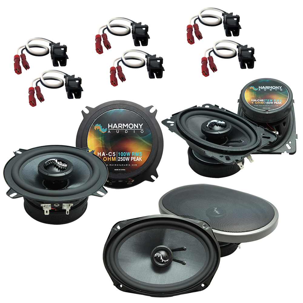 Fits Cadillac DeVille Concours 1994-1995 OEM Speaker Upgrade Harmony Premium Speakers