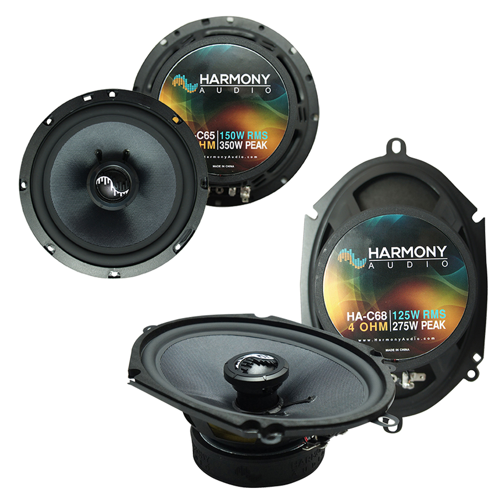Fits Toyota Sienna 2004-2010 Factory Premium Speaker Upgrade Harmony (2) C65 Package New