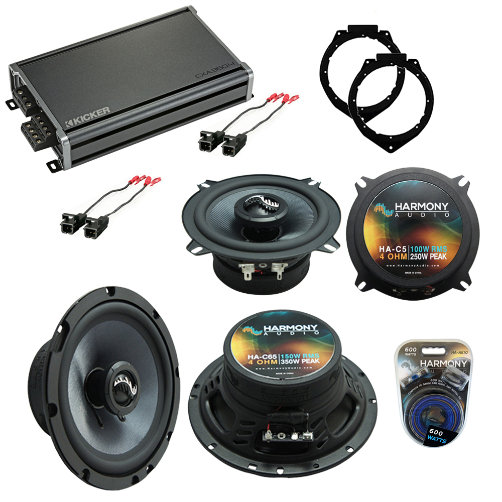 Compatible with Cadillac Escalade 2007-2014 OEM Speakers Replacement Harmony C65 C5 & CXA360.4