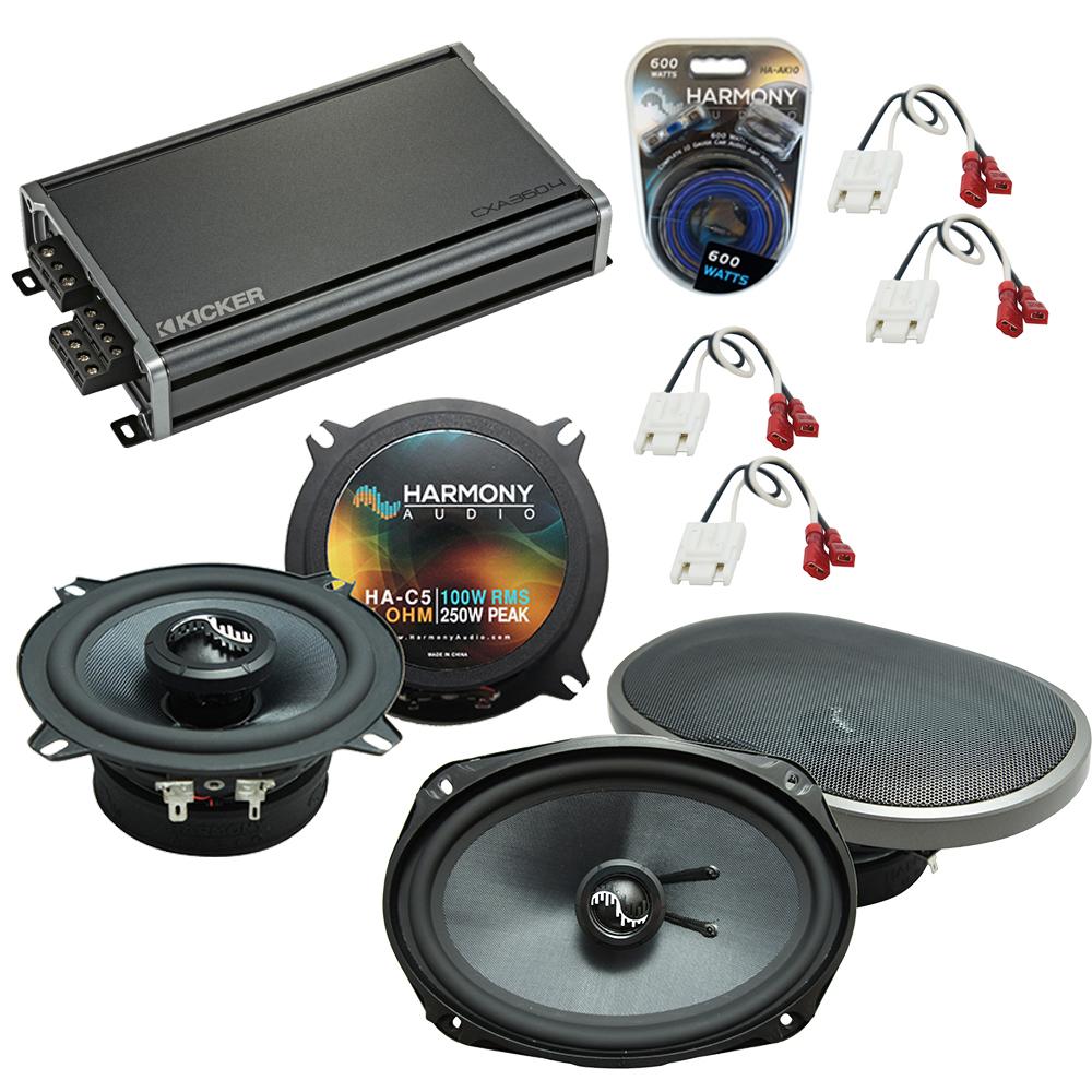 Compatible with Cadillac Fleetwood 85-92 OEM Speakers Replacement Harmony C5 C69 & CXA360.4 Amp