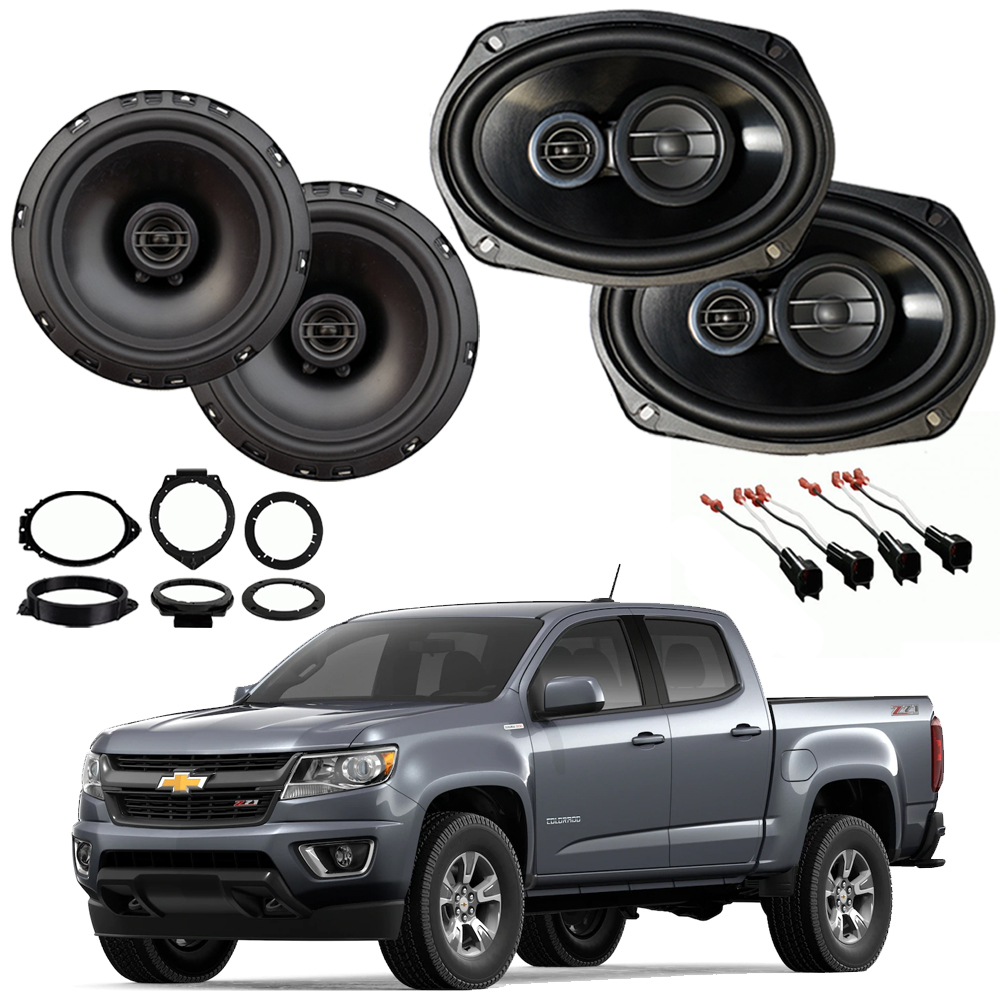 Chevrolet Colorado 2015-2018 Factory Speaker Upgrade Package Harmony R65 R69 New
