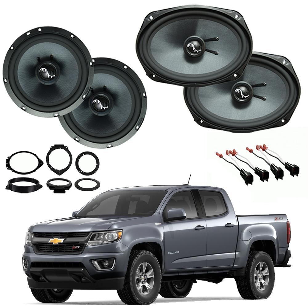 Chevrolet Colorado 2015-2018 Premium Speaker Upgrade Package Harmony C65 C69 New