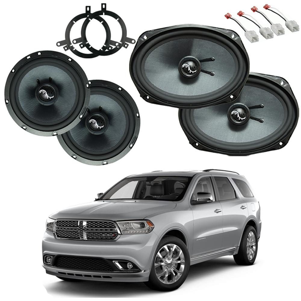 Dodge Durango 2014-2019 Premium Speaker Upgrade Package Harmony C65 C69 New